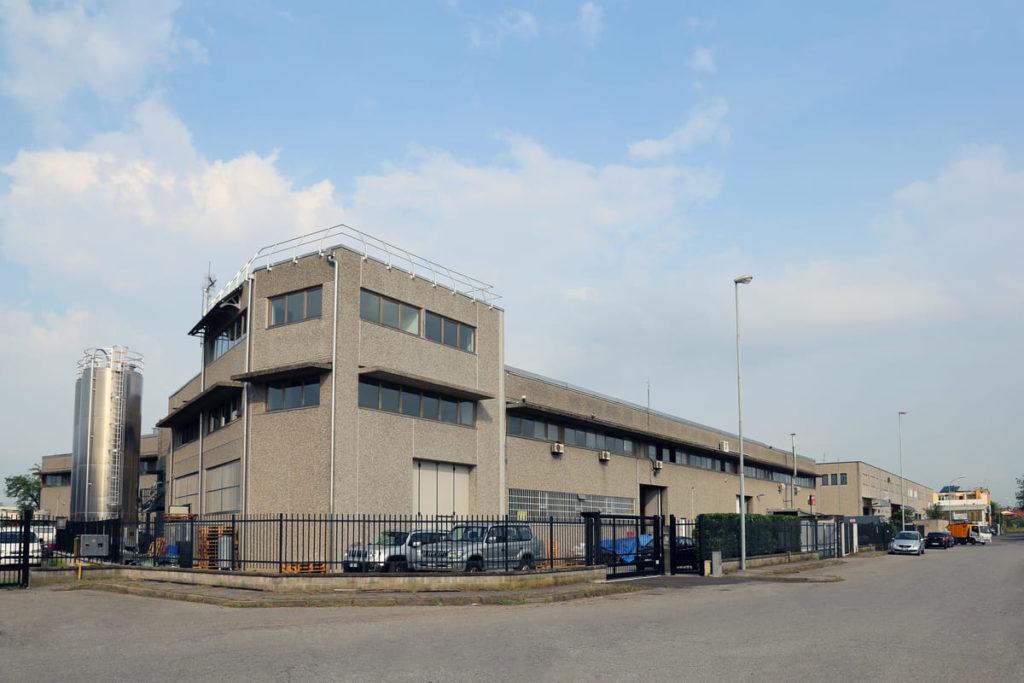 Vista della sede di CB Costruzioni Brescianini