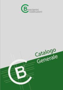 copertina catalogo prodotti CB