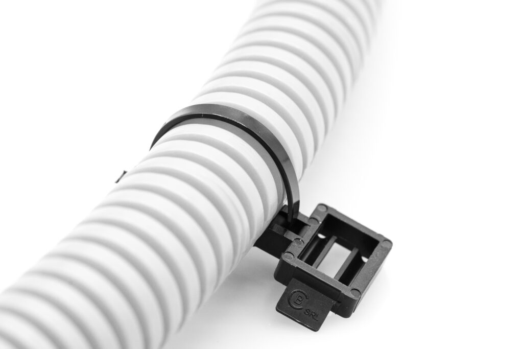Clip for cable tie